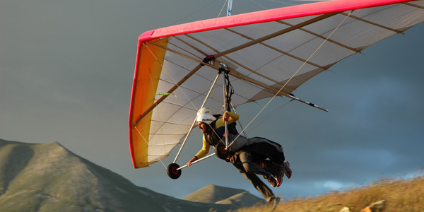PRODELTA - Tandem Hang Gliding flights, give a flight!